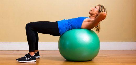 Exercise Ball Exercises Benefits